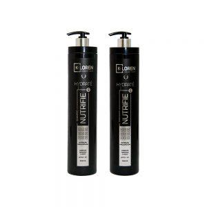 K-Loren Cosmétique - Linha Hydraté - Shampoo e Condicionador 1L